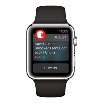 August Apple Watch Notification